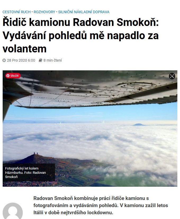Rozhovor o tom, jak to všechno začalo na webu zdopravy.cz